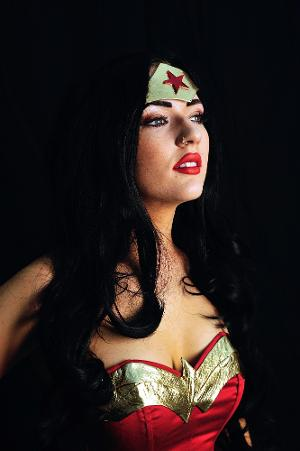 Richard Cook Photography in Sittingbourne - Chloe as Wonderwoman